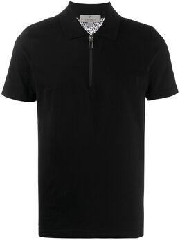 Canali рубашка-поло на молнии T0583MY00911