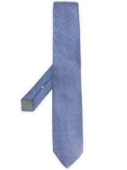 Canali галстук с геометричным узором 18HJ02671