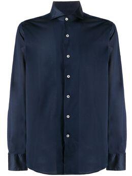 Canali рубашка на пуговицах L756GN00845
