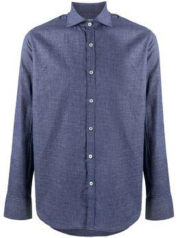 Canali рубашка Textured Modern L7B1GH01826