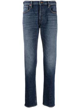 Emporio Armani low-rise slim-fit jeans 3H1J751DE2Z