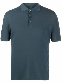 Zanone рубашка поло с короткими рукавами 812081ZW370