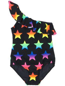 Mc2 Saint Barth Kids TEEN Carin one-shoulder swimsuit CARIN