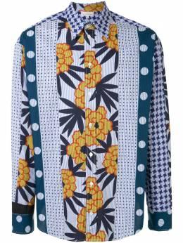 Pierre-louis Mascia рубашка оверсайз с принтом ZANTESCML1064349346