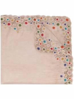 Faliero Sarti embroidered scarf E201028