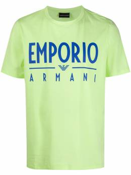 Emporio Armani logo print relaxed-fit T-shirt 3H1T901J0AZ