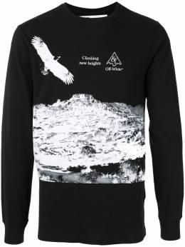 Off-White graphic print sweatshirt OMAB001S201850161001