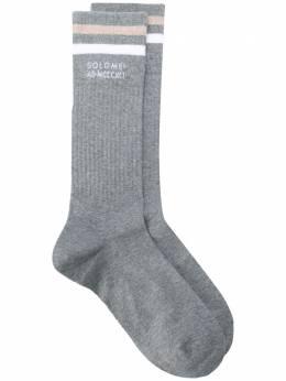 Brunello Cucinelli носки с контрастной полоской MCS93531CC542