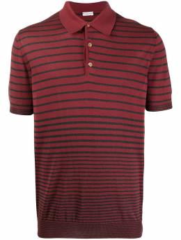 Caruso striped print polo shirt 700140MD52