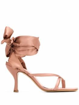 Gia Couture босоножки Kandice с завязками на щиколотке KANDICEBIS