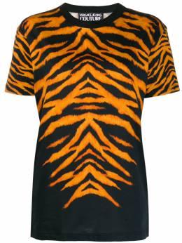 Versace Jeans Couture cotton tiger print T-shirt B3GVB7DF30377899
