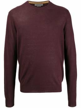 Corneliani fine knit long sleeve top 85M5740125131