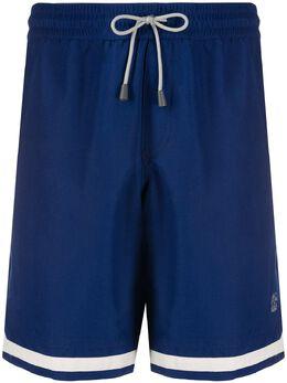 Brunello Cucinelli плавки-шорты с кулиской MQ828035CD870