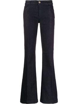 Emporio Armani расклешенные джинсы с завышенной талией 6G2J022D6FZ