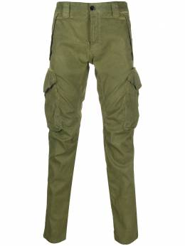 C.P. Company tapered leg cargo pants 08CMPA119A005694S
