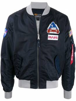 Alpha Industries Ma-1 LW Mission To Mars bomber jacket 126106