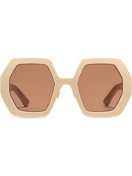 Gucci Eyewear солнцезащитные очки 623888J0740 в оправе геометричной формы