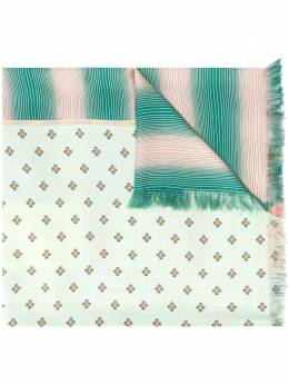 Pierre-louis Mascia fringed print-mix scarf ALOEUWS4