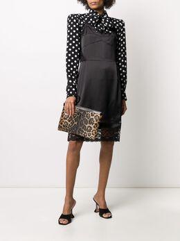 Marc Jacobs платье с кружевным подолом V5000009001