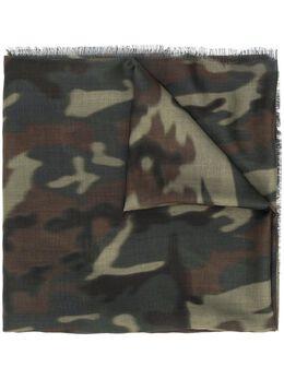 Tom Ford длинный шарф с камуфляжным принтом 2TE7TF133