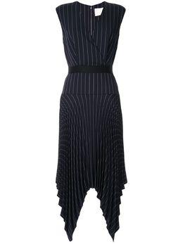 Dion Lee платье строгого кроя со складками A9632R20