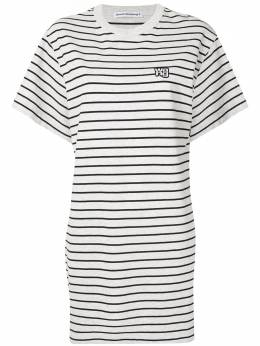 T By Alexander Wang Striped T-shirt dress 4CC1206029