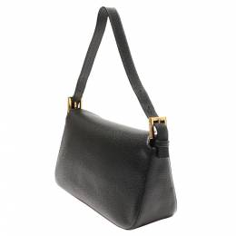 Fendi Black Leather Mamma Bag