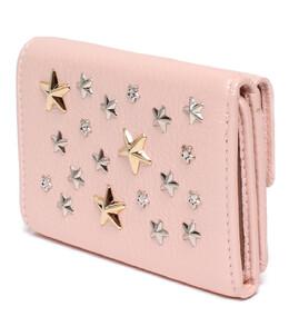 Jimmy Choo Pink Leather Tri-Fold Wallet