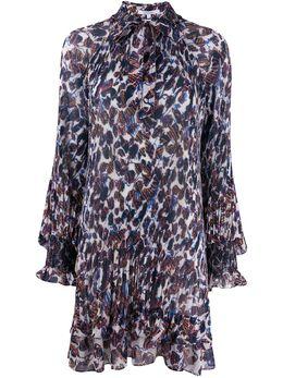 10 Crosby Derek Lam плиссированное платье с цветочным принтом TR02501APG
