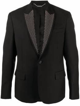 John Richmond stud-embellished blazer RMP20222GC