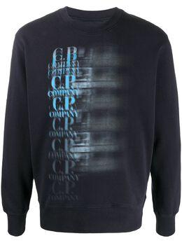 C.P. Company faded logo sweatshirt 08CMSS325A005747W