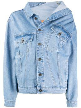 Y / Project asymmetric collar jacket WJACK15S18D03