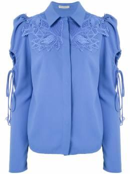 Martha Medeiros рубашка Dominique с кружевной аппликацией S20T0034