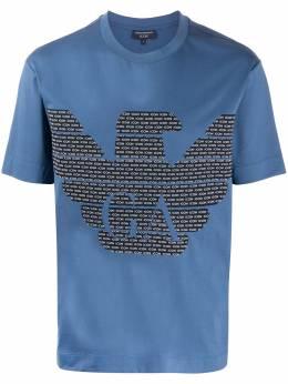 Emporio Armani logo crew neck T-shirt 8N1T7H1JCQZ