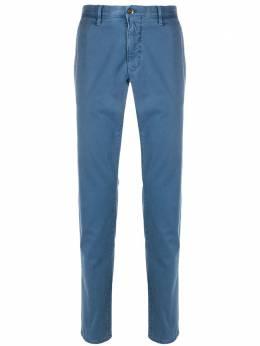 Incotex брюки кроя слим средней посадки 12S10090827
