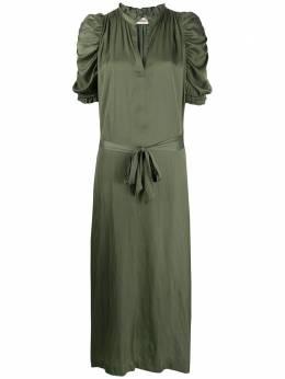 Zadig & Voltaire длинное платье Ray SJCP0402F
