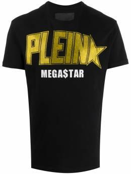 Philipp Plein футболка с логотипом P20CMTK4275PJY002N