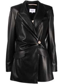 Nanushka куртка Blair на пуговице BLAIR