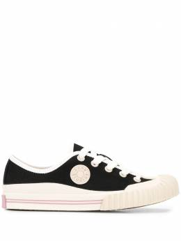 Acne Studios logo patch canvas sneakers AD0171