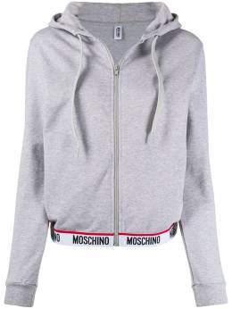 Moschino zip-up hoodie A17029012