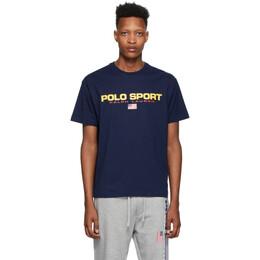 Polo Ralph Lauren Navy Polo Sport T-Shirt 710750444004