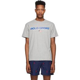 Polo Ralph Lauren Grey Polo Sport T-Shirt 710750444007