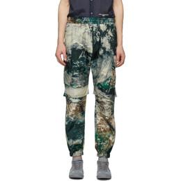 Stella McCartney Multicolor Earth Satellite Print Taylor Cargo Pants 599126SON09