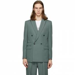 Stella McCartney Green Holden Blazer 600340SOO01