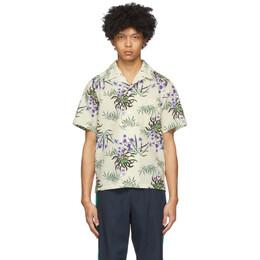 Kenzo Off-White Sea Lily Shirt FA55CH5291LI