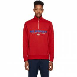 Polo Ralph Lauren Red Polo Sport Fleece Sweatshirt 710750456002
