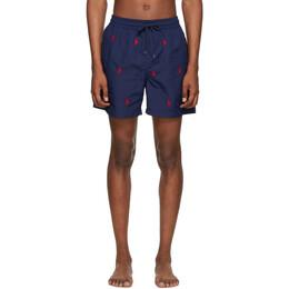 Polo Ralph Lauren Navy Traveler Swim Shorts 710739102003