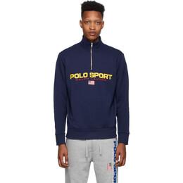 Polo Ralph Lauren Navy Polo Sport Fleece Sweatshirt 710750456003