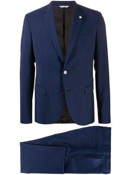 Manuel Ritz slim-fit two button suit 2832A3109203071
