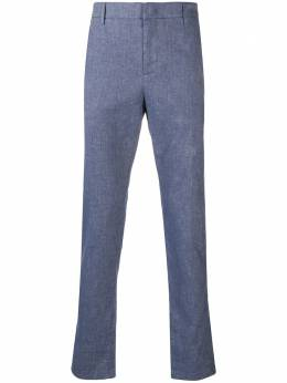 Dondup Ivor chambray chino trousers UP553LS0003U002